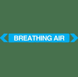 Breathing Air Pipe Marker