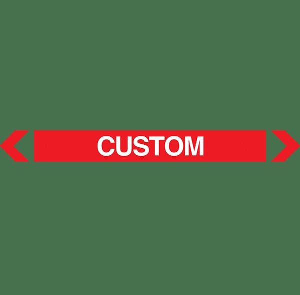 Custom Pipe Marker