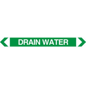 Drain Water Pipe Marker
