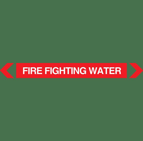 Fire Fighting Water Pipe Marker