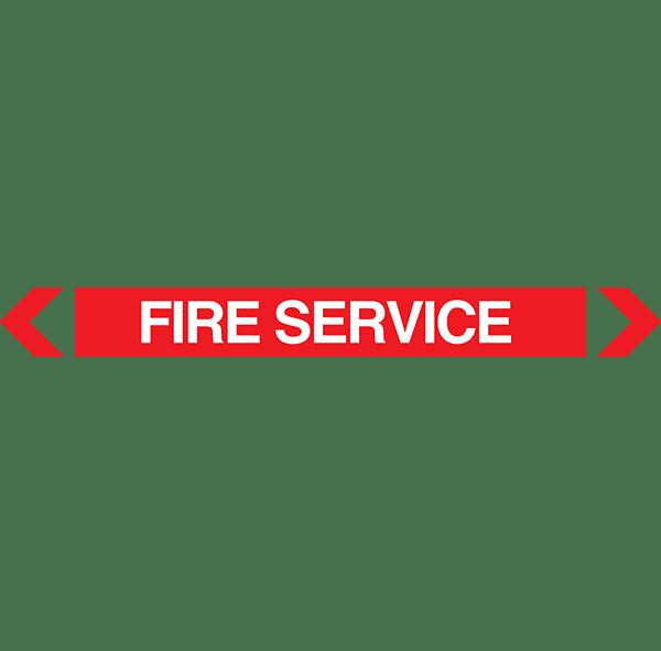 Fire Service Pipe Marker