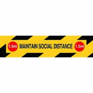Social Distance Strip Sign