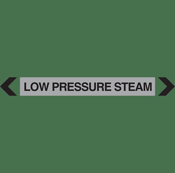 Low Pressure Steam Pipe Marker
