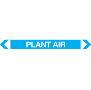 Plant Air Pipe Marker