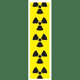 Radioactive Hazard Pipe Marker