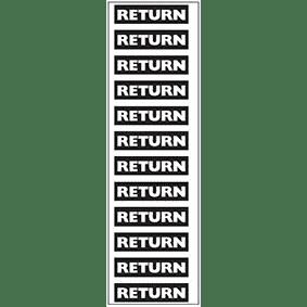 Return Pipe Marker