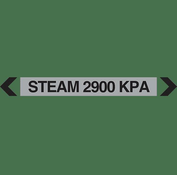Steam 2900 Kpa Pipe Marker