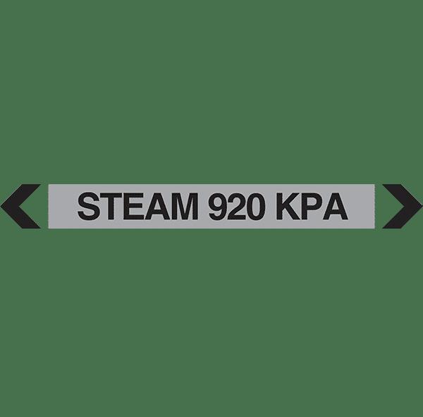 Steam 920 Kpa Pipe Marker
