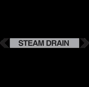 Steam Drain Pipe Marker