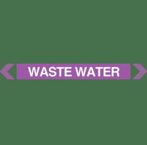 Waste Water Pipe Marker