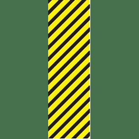 Diagonal Stripes Pipe Marker