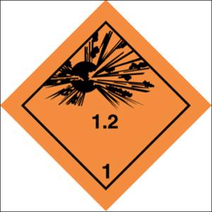 Class 1 Explosive substance Div 1.2 - Optional group