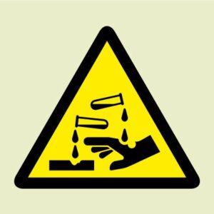 Acid corrosive symbol