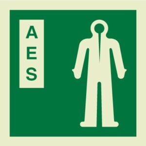 Anti-Exposure suit IMO Sign