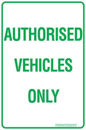 Carpark Authorised Vehicles Only