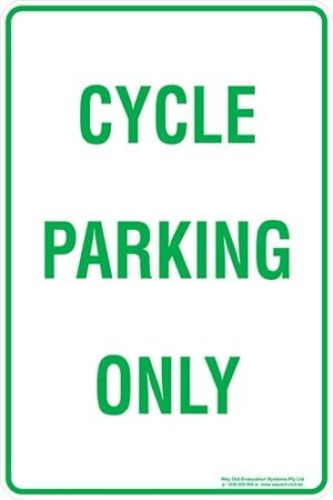 Carpark Cycle Parking Only