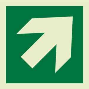 Diagonal directional arrow IMO Sign