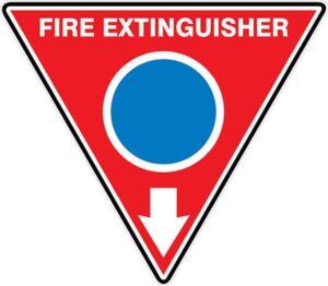Fire Extinguisher Id Marker Tri Foam