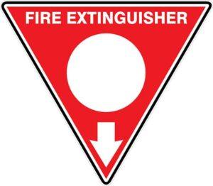 Fire Extinguisher Id Marker Tri Powder