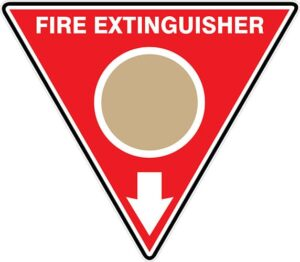 Fire Extinguisher Id Marker Tri Wet Chemical