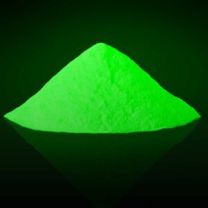 Green Photoluminescent pigment