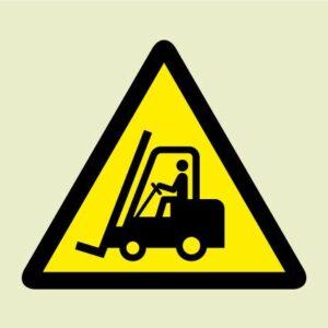 Industrial vehicle symbol