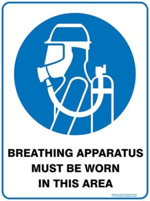 Mandatory Breathing Apparatus Must Be Worn In This Area