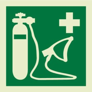 Resuscitator IMO Sign