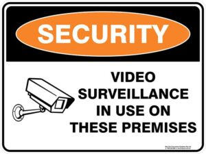 Security Video Surveillance In Use On These Premises 2